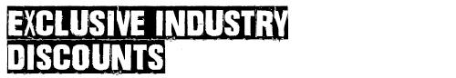 Benefit: Exclusive industry discounts