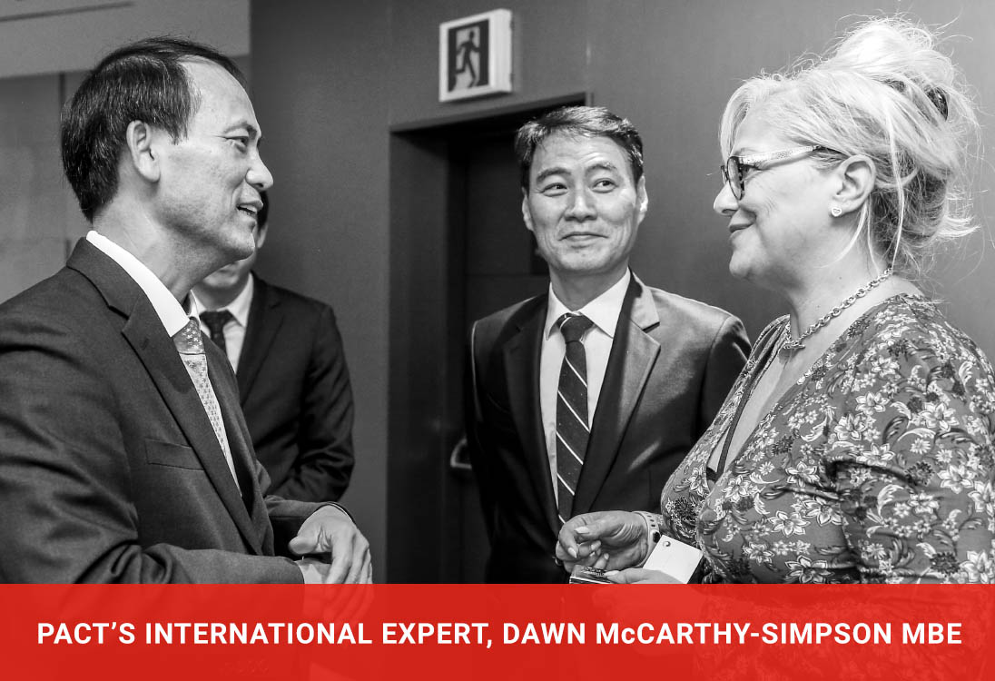 Pact's International Expert, Dawn McCarthy-Simpson MBE