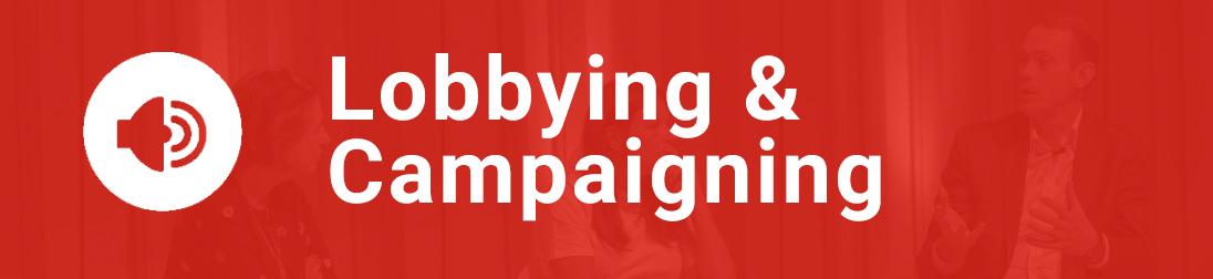 Link box: Lobbying & Campaigning