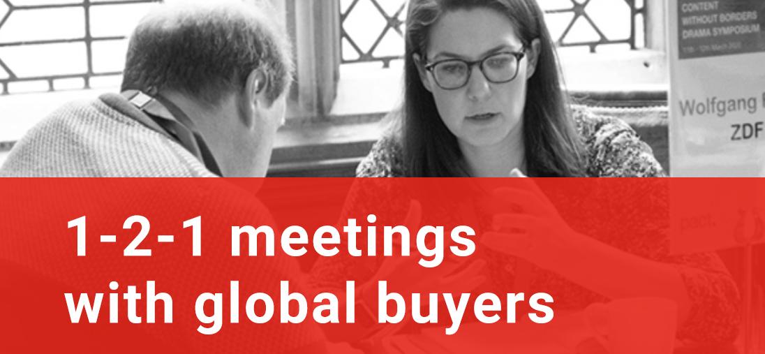 1-2-1 meetings with global buyers