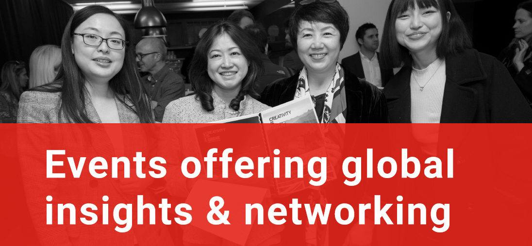 Events offering global insights