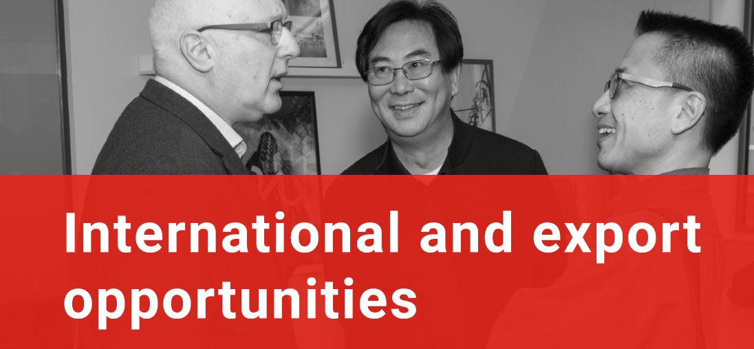 International & Export Opportunities