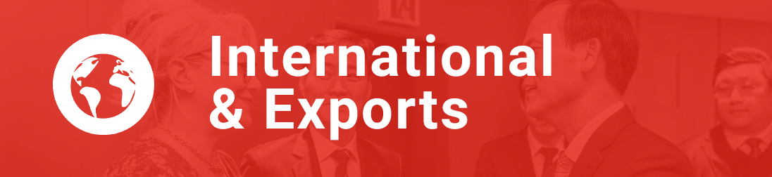 Link box: International & Exports