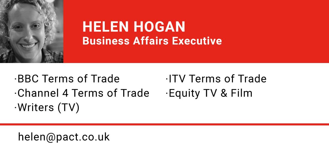 HELEN HOGAN, Business Affairs Executive