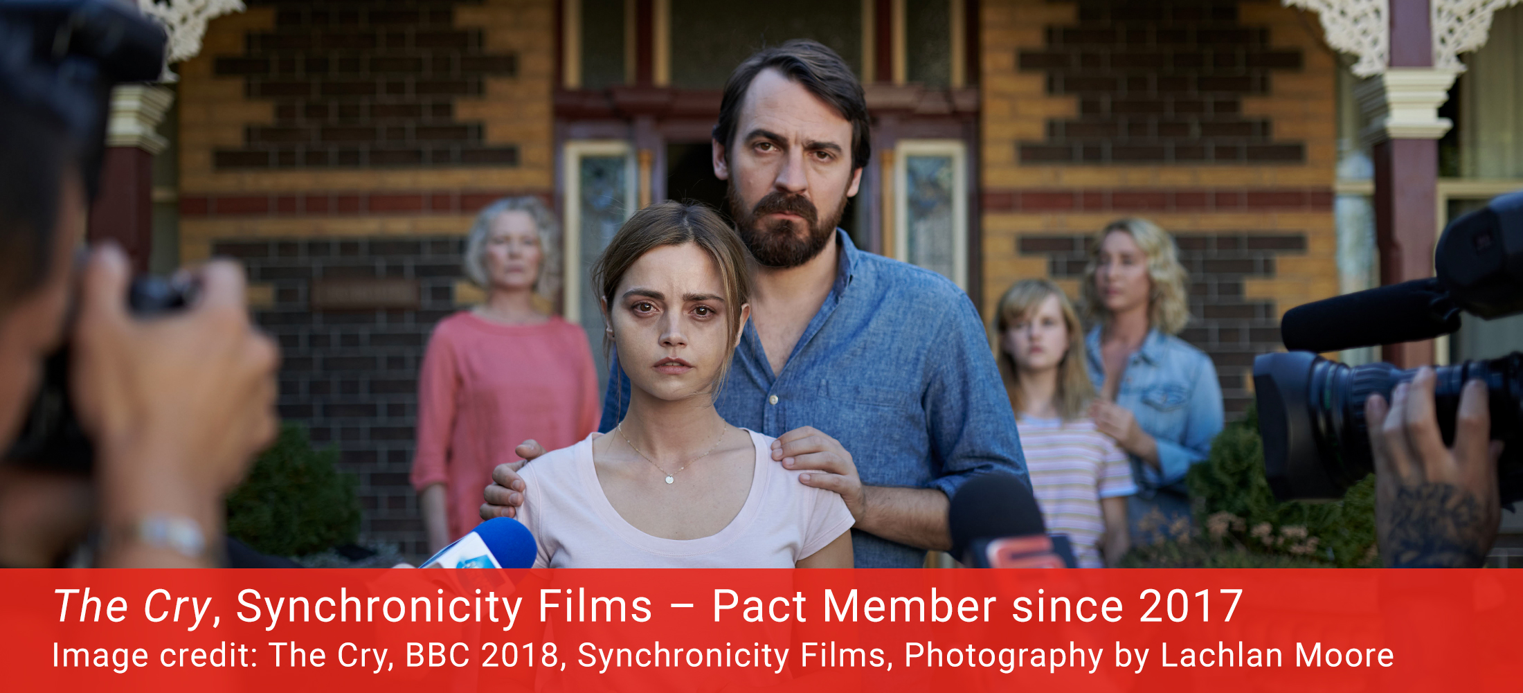 Image from The Cry, made by Pact Member Synchronicity Films.
