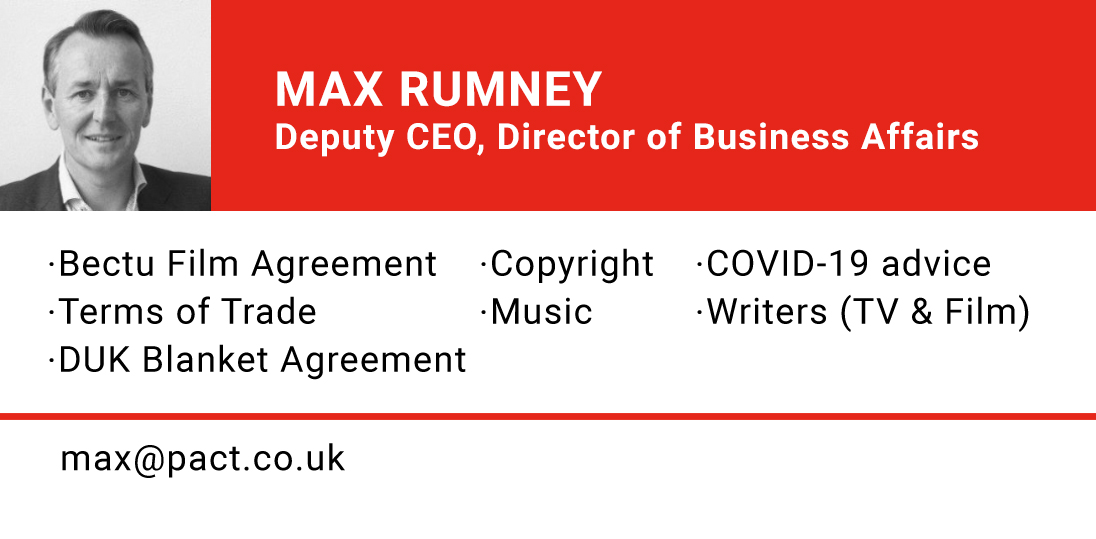 MAX RUMNEY, Deputy CEO and Director of Business Affairs