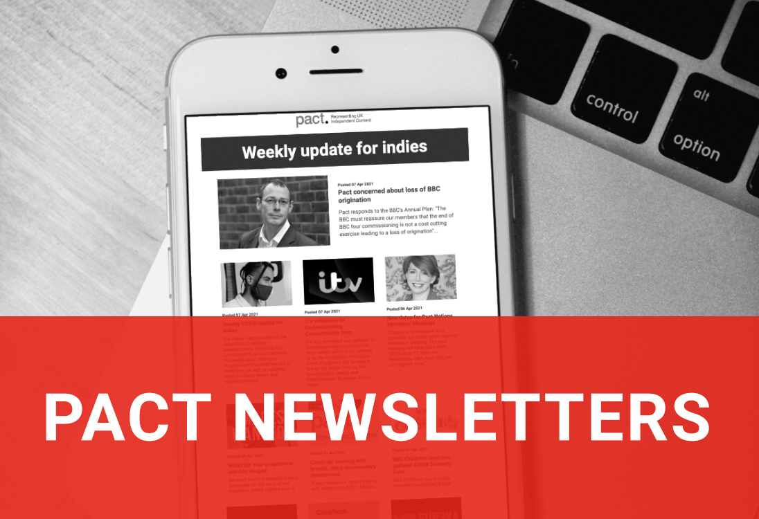 Pact newsletters