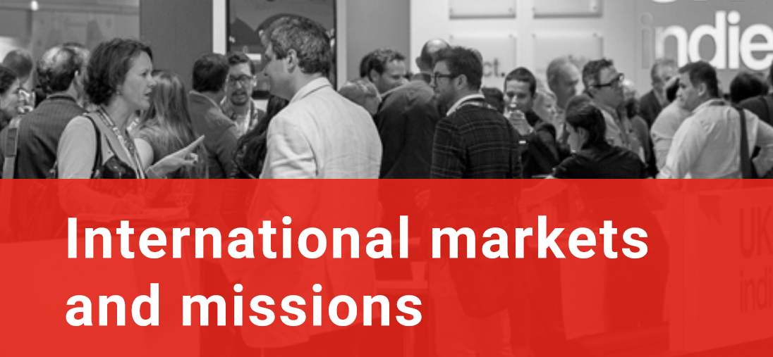 International markets and missions
